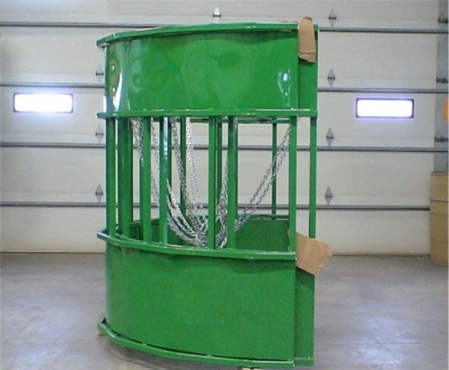 Hay Hopper Round Bale Feeder - discontinued