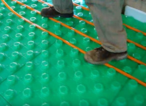 Crete Heat Insulated Floor Panels 2 Inch