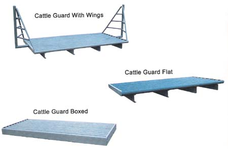 different cattle guard styles