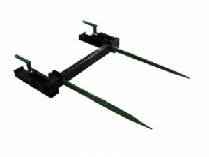 square bale spear
