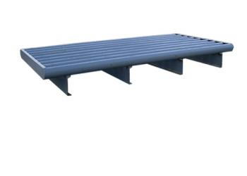 cattle guard with round top rails