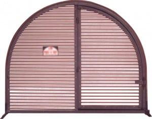 Animal Hut Front Door and Enclosure