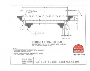 Cattle-Guard-Foundation