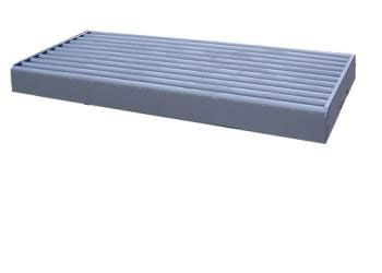 boxed cattle guard to lay on the ground