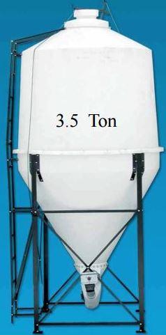 poly grain bin