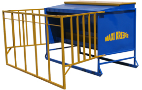 single sided creep feeder for calves