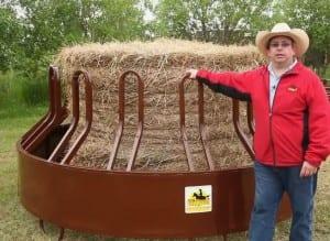horse hay feeder tombstone