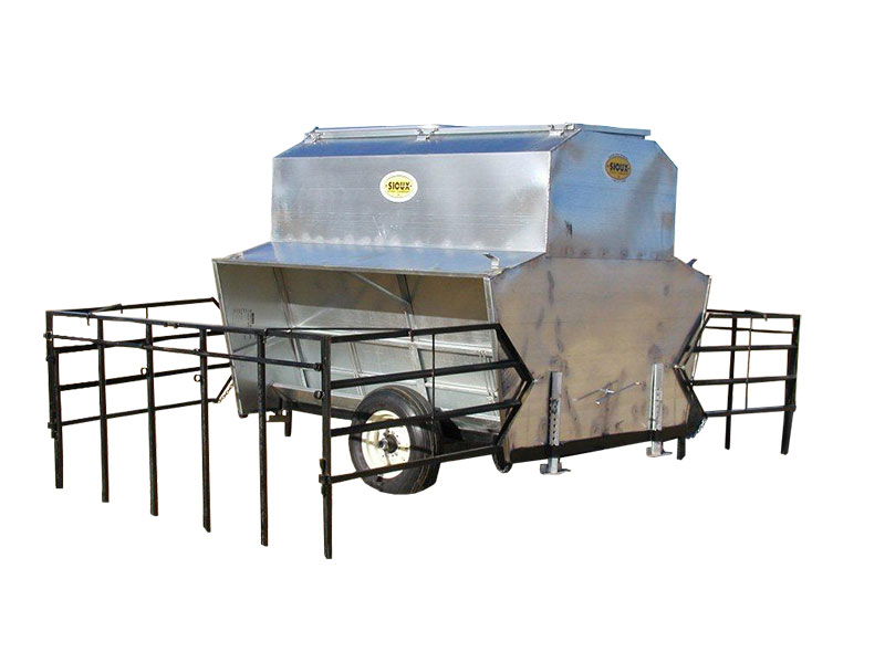 creep feeder trailer