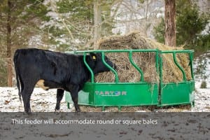 collapsible hay feeder