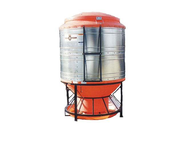 hog feeder for outdoor use