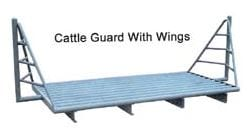 wings installed on a cattle guard