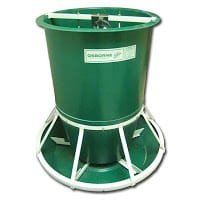 pig feeder with a 7.5 bushel capacity
