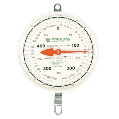 hog scale mechanical indicator