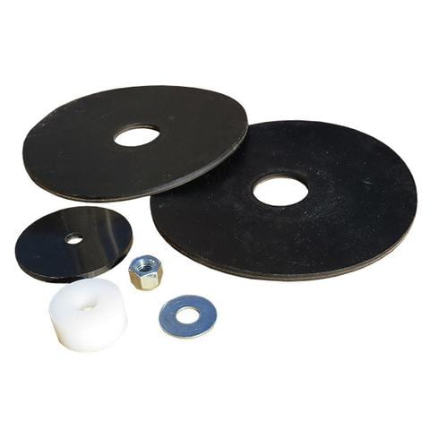mineral feeder flap washers