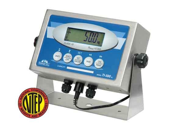 weigh bar display indicator