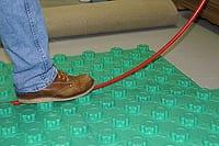 insulated radiant heat floor panel