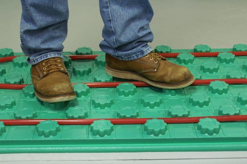 Crete-Heat Insulated Floor Panels - 1 inch