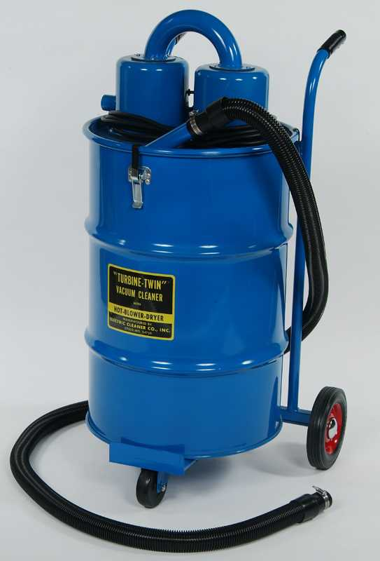 large barrel vacuum for industrial work
