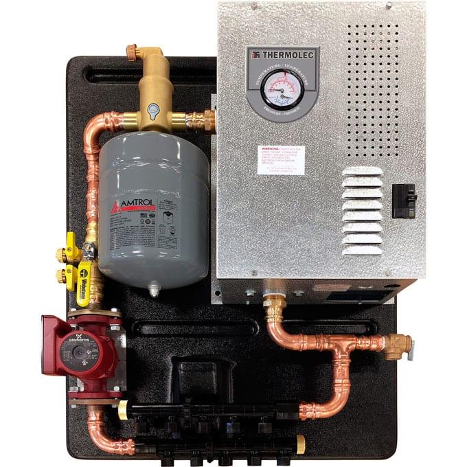 radiant heat boiler