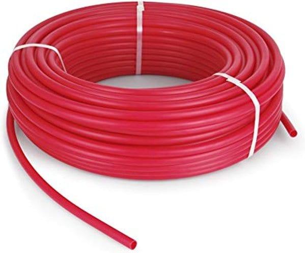radiant floor heat pex tubing